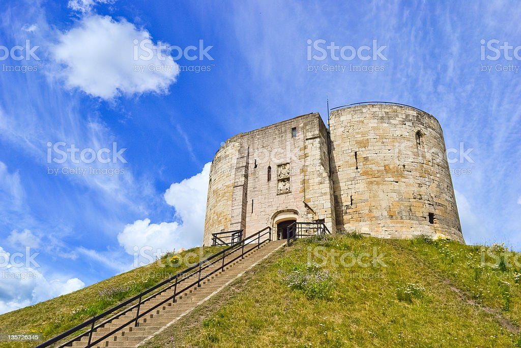 Cliffords Tower stock photo
