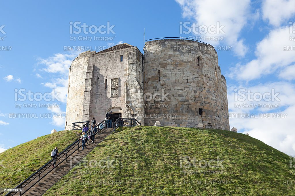 Clifford's Tower stock photo