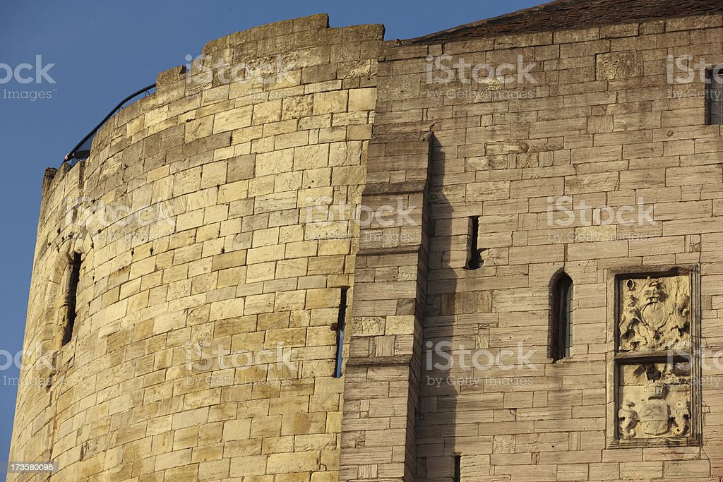Cliffords Tower York stock photo