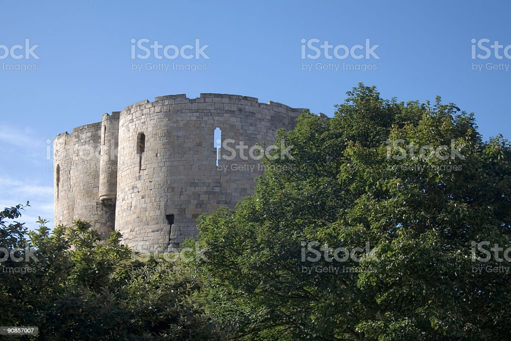 Clifford's tower York stock photo