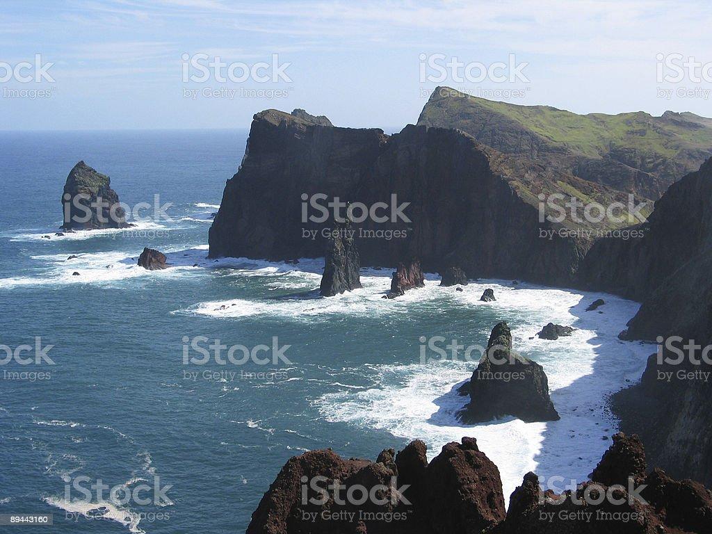Cliffs 1 royalty-free stock photo