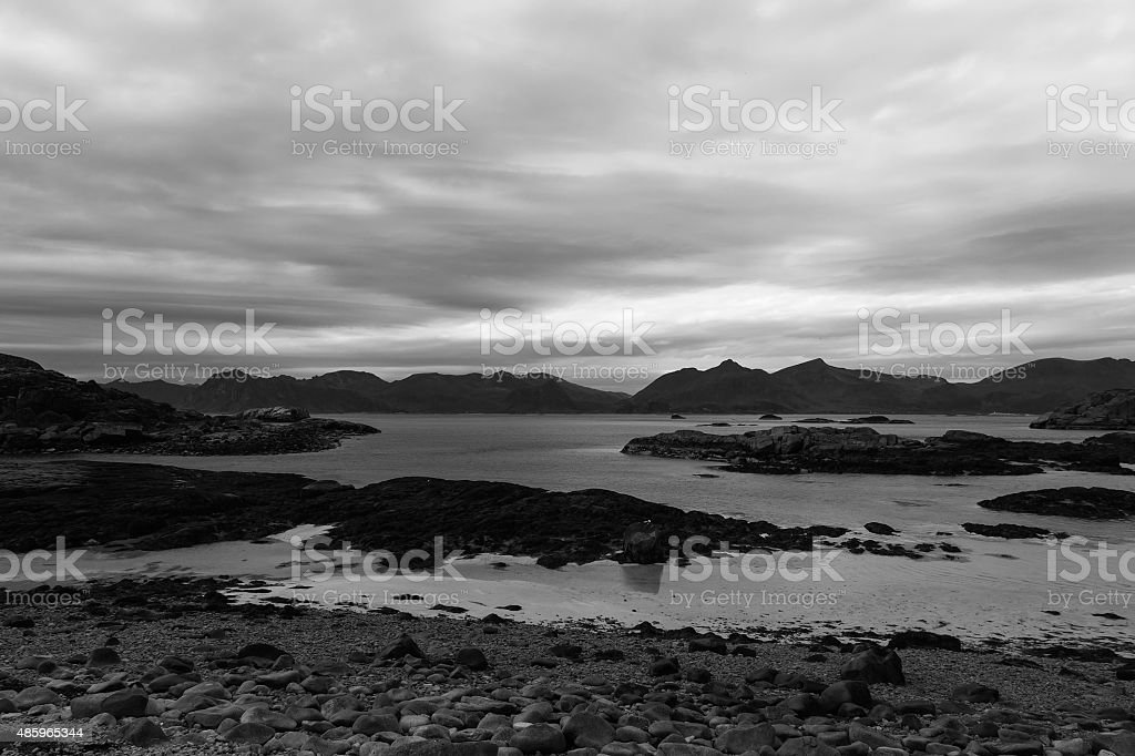 Cliffs and rocks royalty-free stock photo