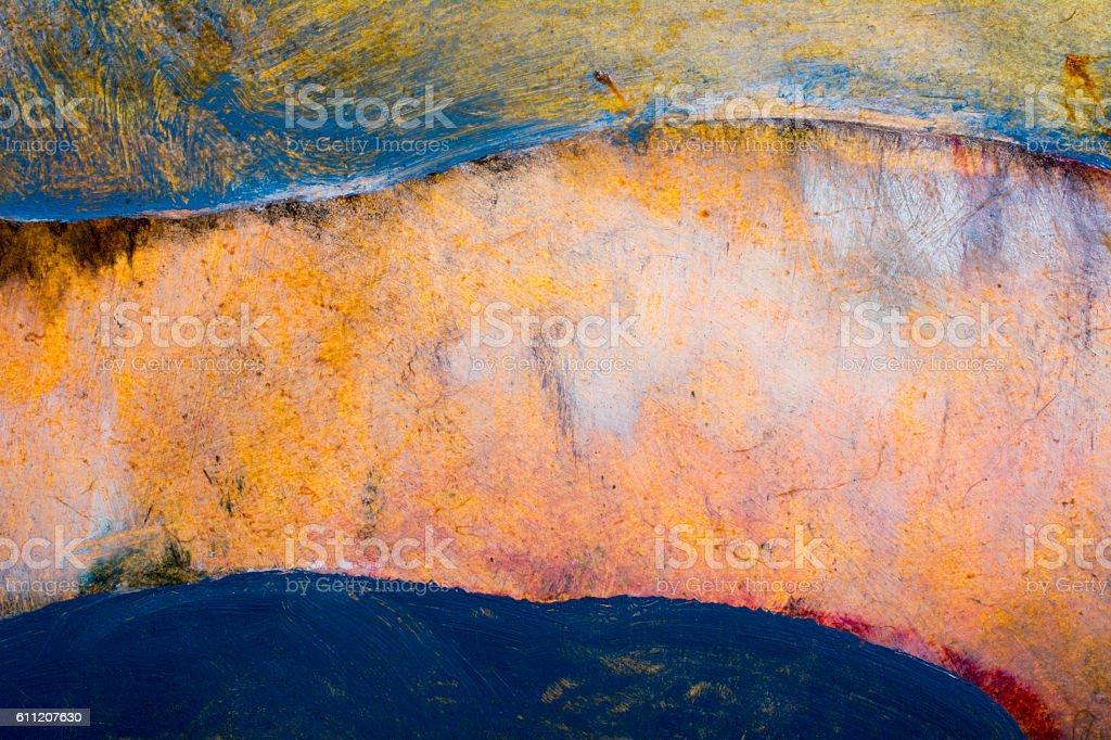Cliffs at dawn stock photo
