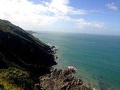 Cliffs in North Devon
