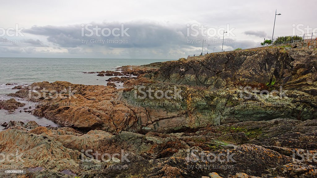 Cliffs near Promenade royalty-free stock photo
