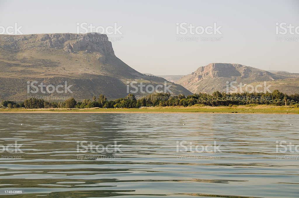 Cliffs of Arbel royalty-free stock photo