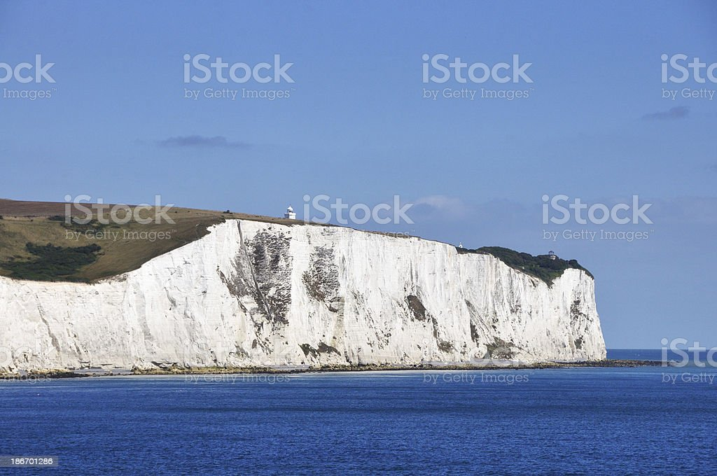 Cliffs of dover royalty-free stock photo