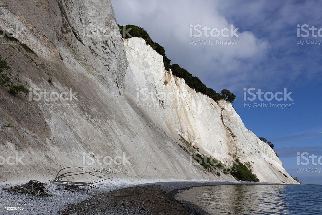Cliffs of Mön stock photo