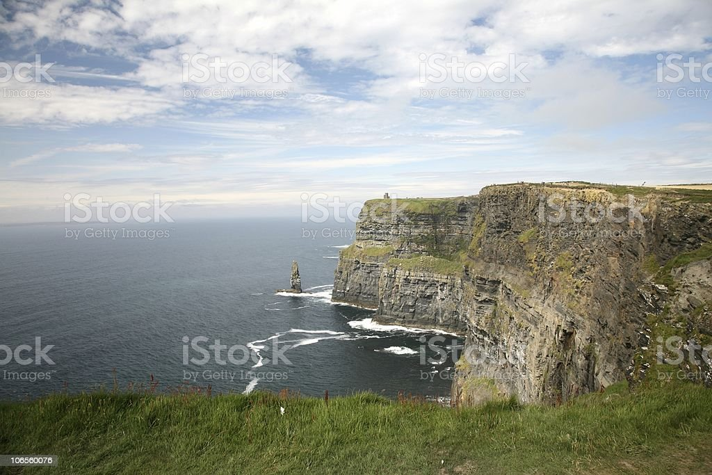 Cliffs of Moher Coastline royalty-free stock photo