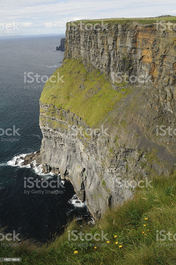 Cliffs of Moher, County Clare, Ireland royalty-free stock photo