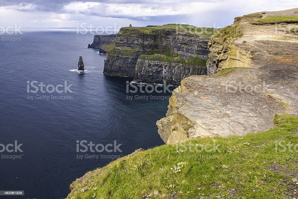 Cliffs of Moher in County Clare, Ireland royalty-free stock photo