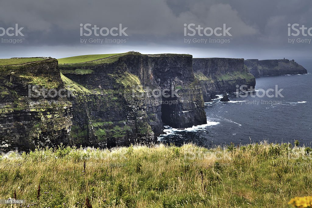 Cliffs of Moher, Ireland. royalty-free stock photo
