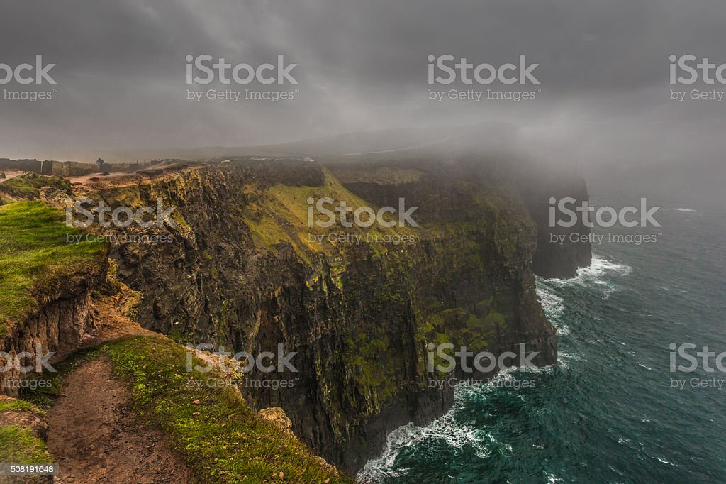 Cliffs of Moher Ireland stock photo