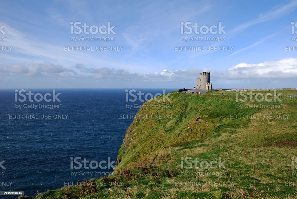 Cliffs of Moher - Ireland stock photo