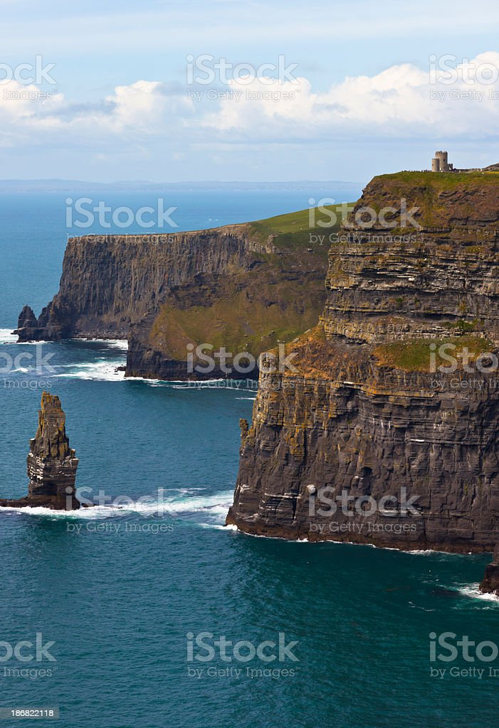 Cliffs of Moher royalty-free stock photo