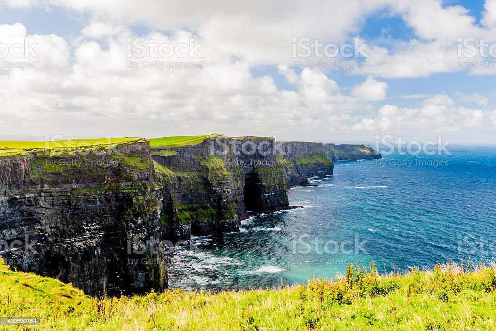 Cliffs of Moher stock photo