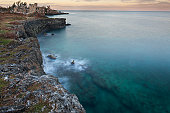Cliffs of Negril Jamaica.