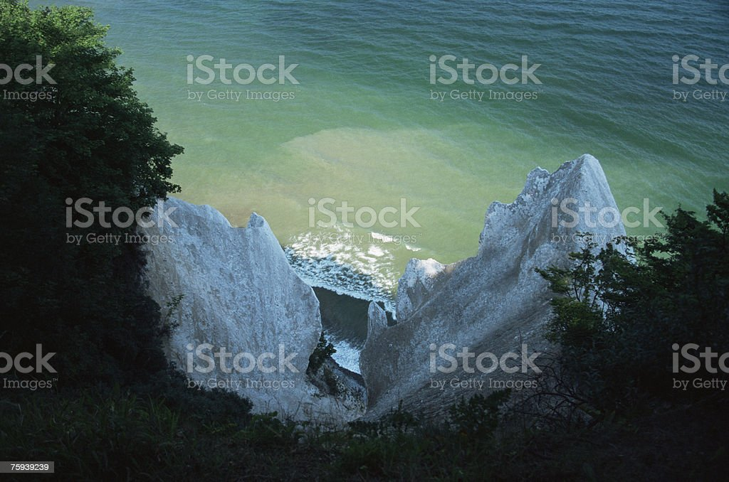 Cliffs on rugen royalty-free stock photo