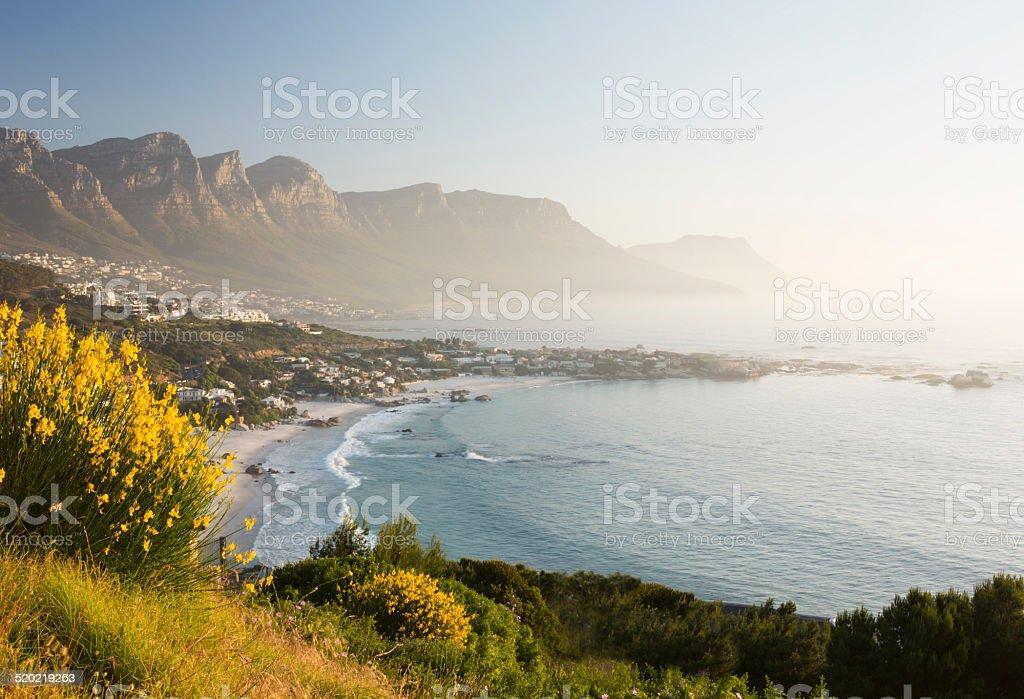 Clifton Beach Cape Town stock photo