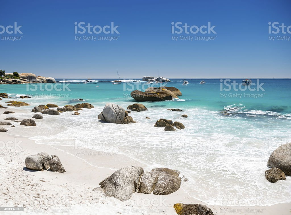 Clifton Beach, Cape Town, South Africa stock photo