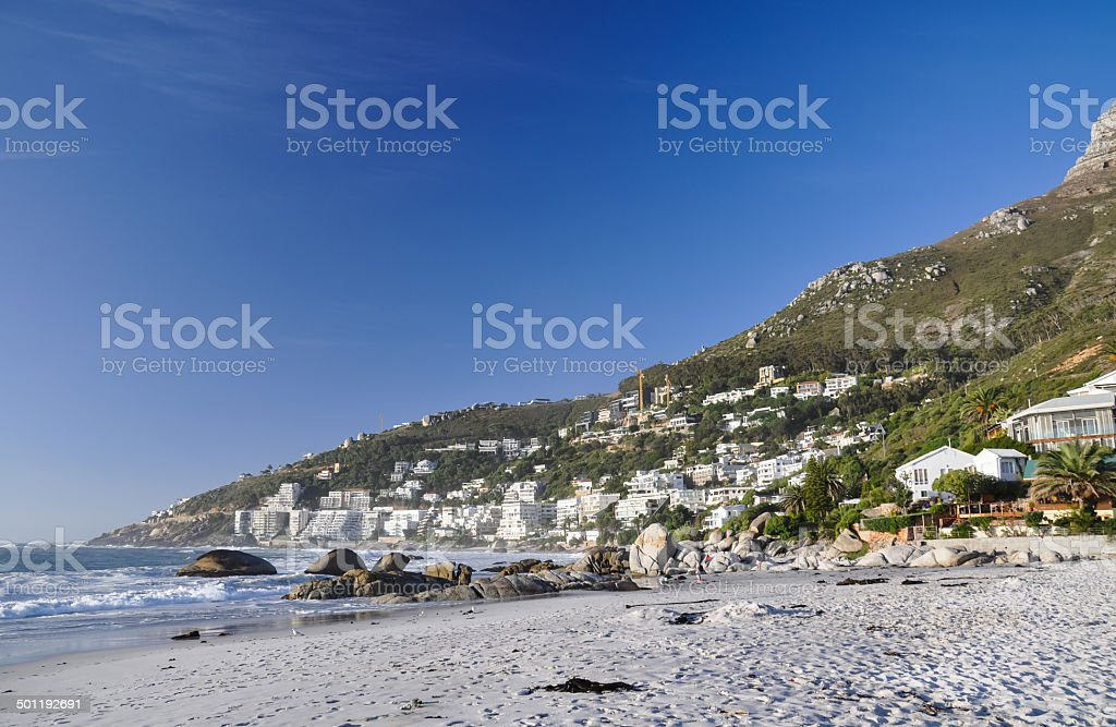 Clifton Beach - Cape Town, South stock photo