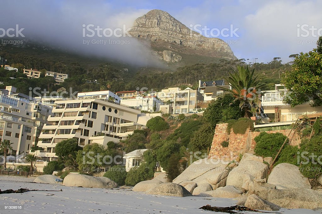 Clifton Beach in Cape Town, South Africa royalty-free stock photo