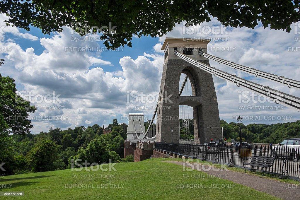Clifton Suspension Bridge, Bristol UK stock photo