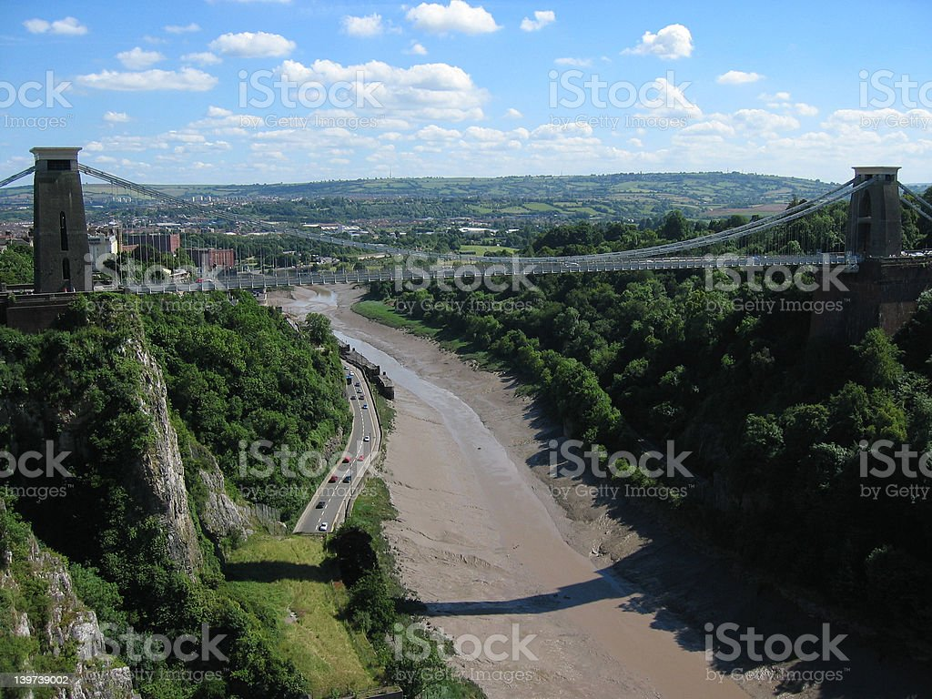 Clifton Suspension Bridge stock photo
