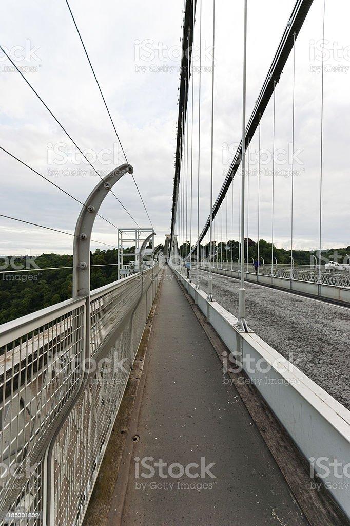 Clifton Suspension Bridge royalty-free stock photo