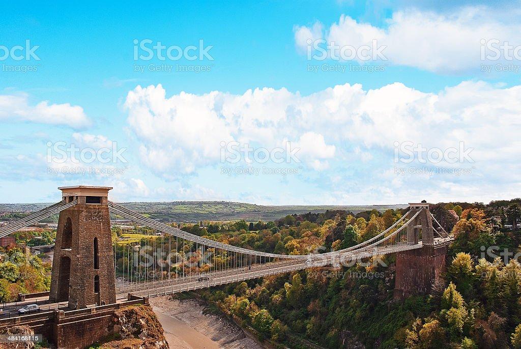 Clifton Suspension Bridge stock photo