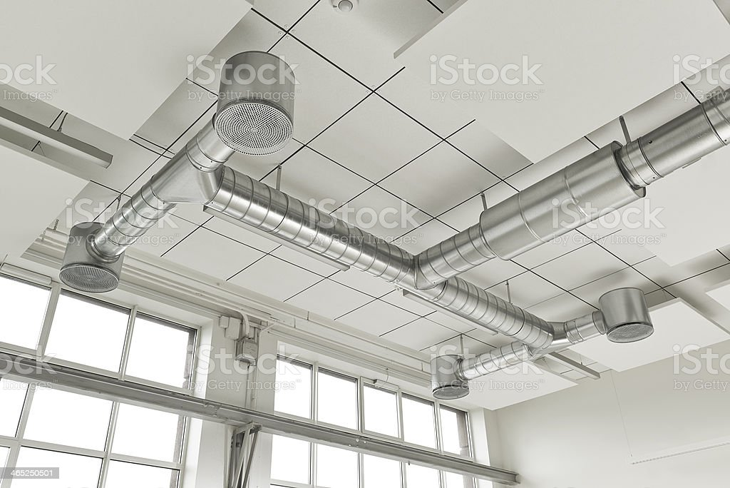 Climate airconditioning control in building stock photo