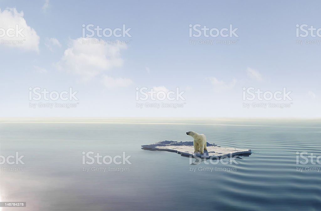 Climate change royalty-free stock photo