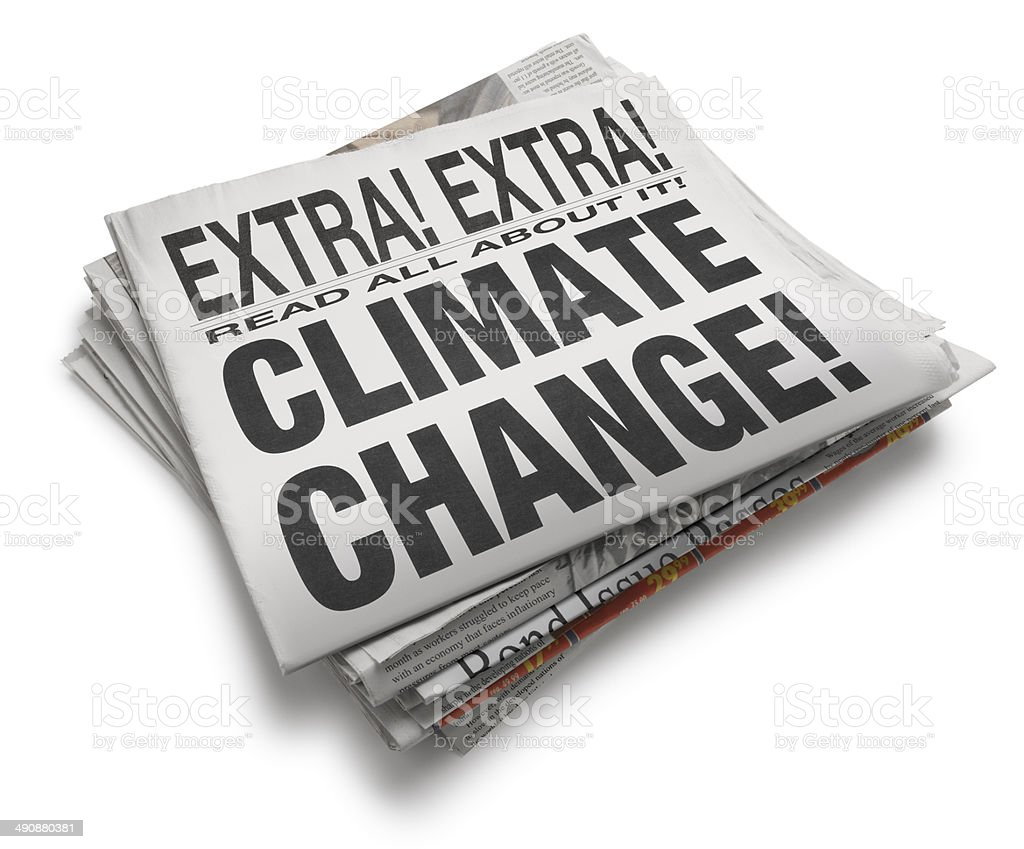 Climate Change! stock photo