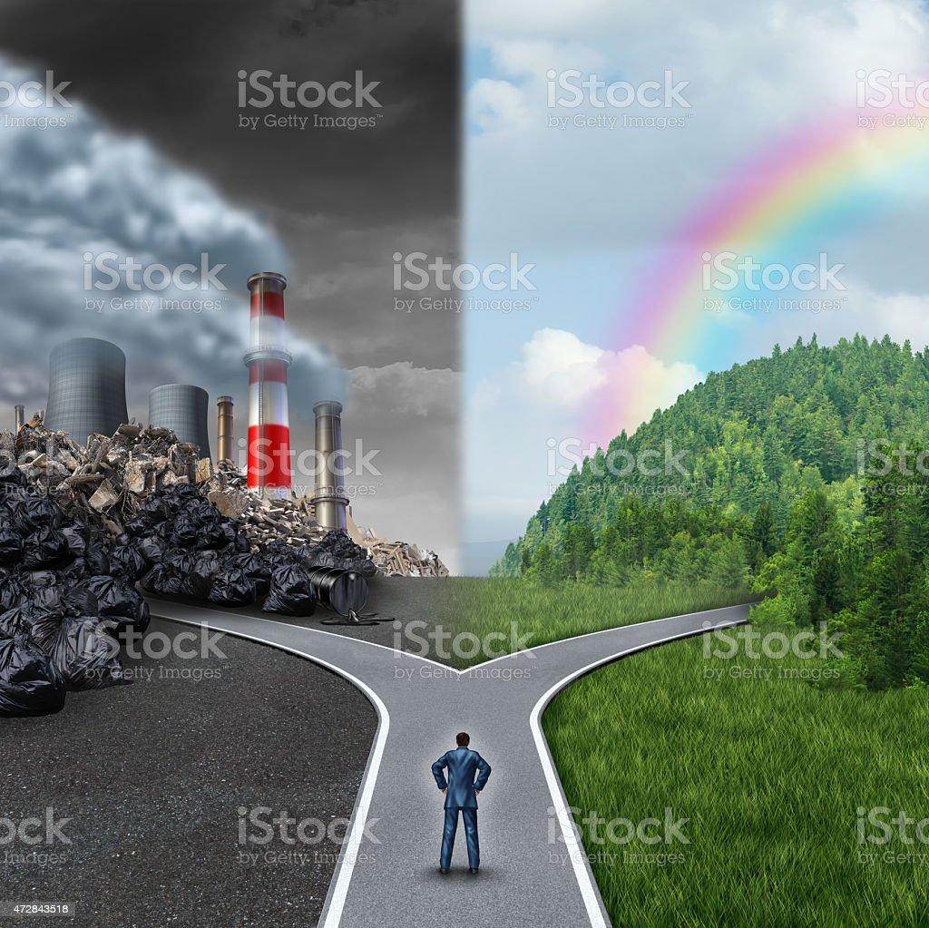Climate Choice stock photo