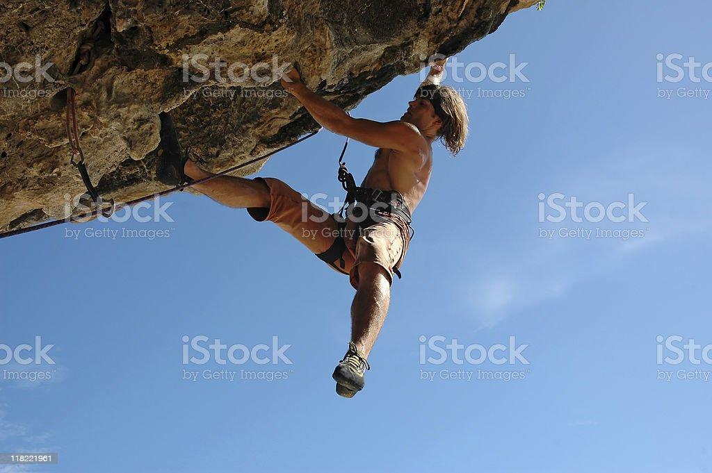 Climb on! royalty-free stock photo