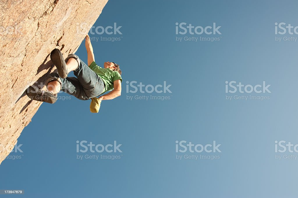 climb royalty-free stock photo