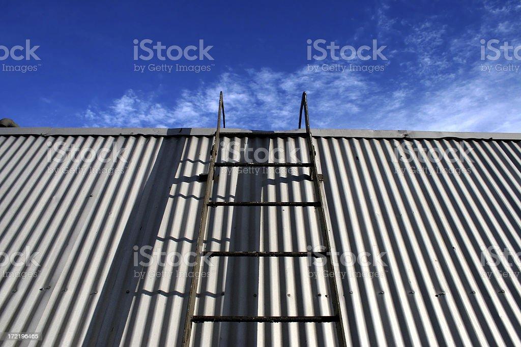 climb the ladder royalty-free stock photo
