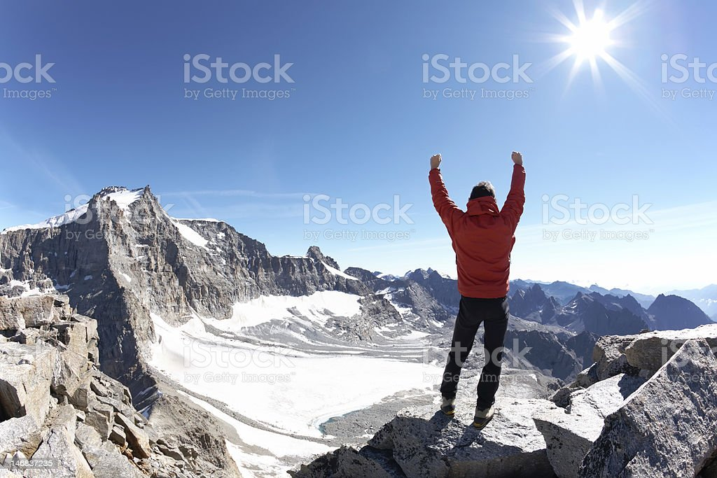 Climber royalty-free stock photo