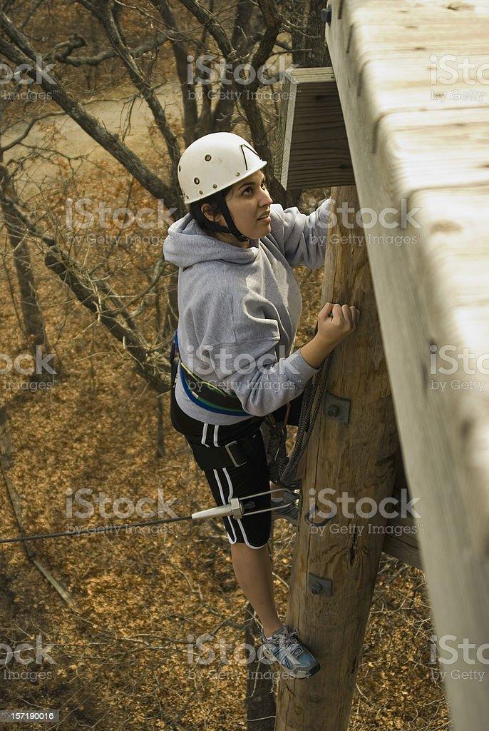 Kletterer#2 Lizenzfreies stock-foto