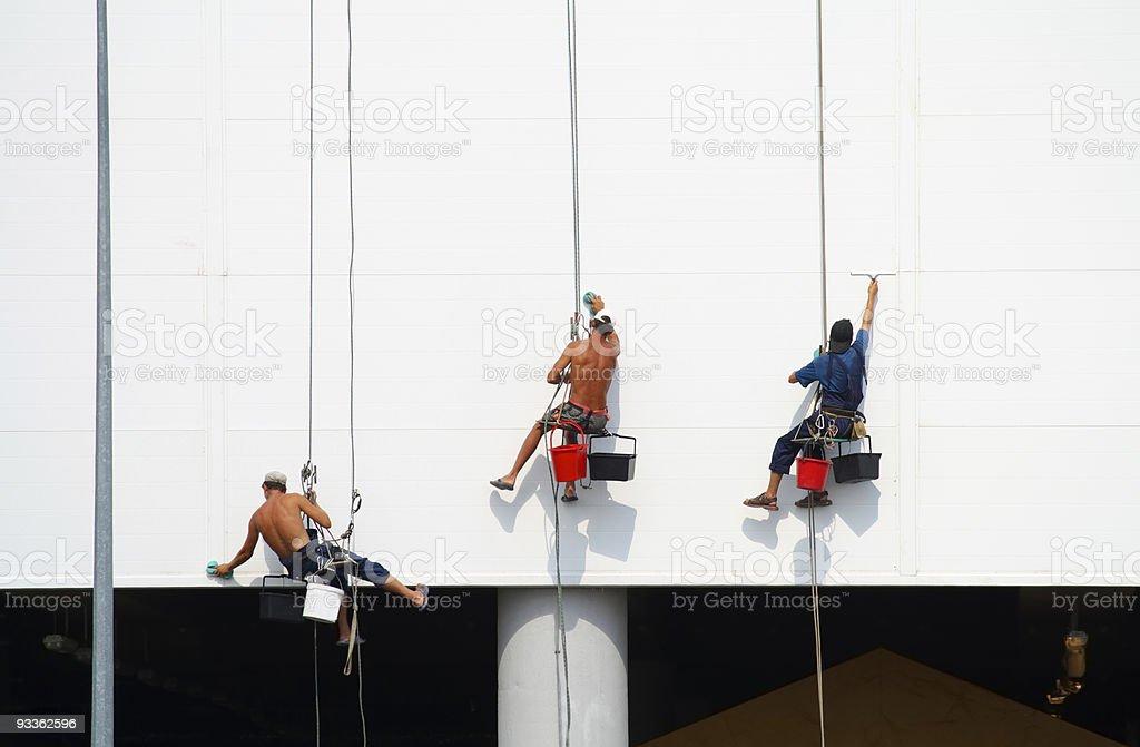 Climber royalty-free stock photo