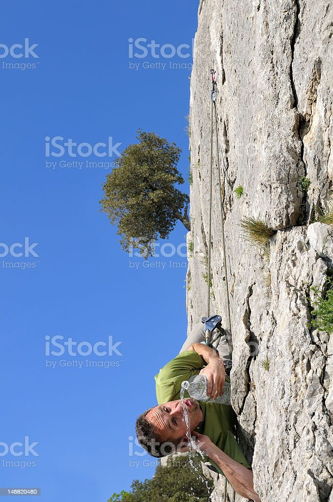 climber two royalty-free stock photo