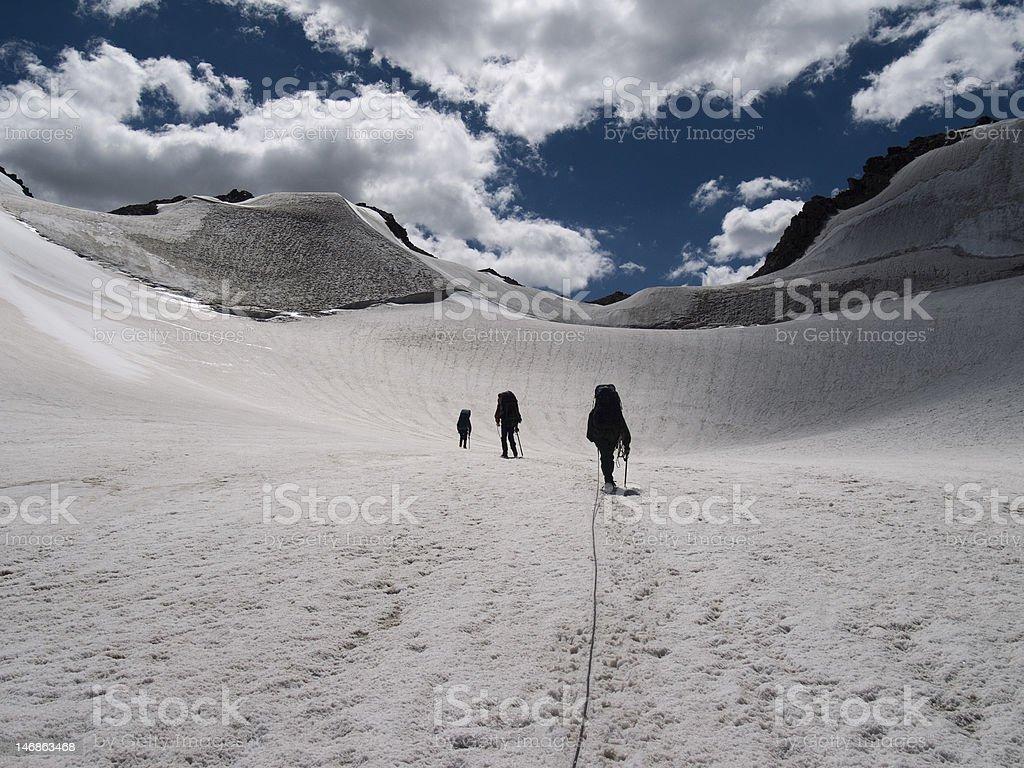 Climbers royalty-free stock photo