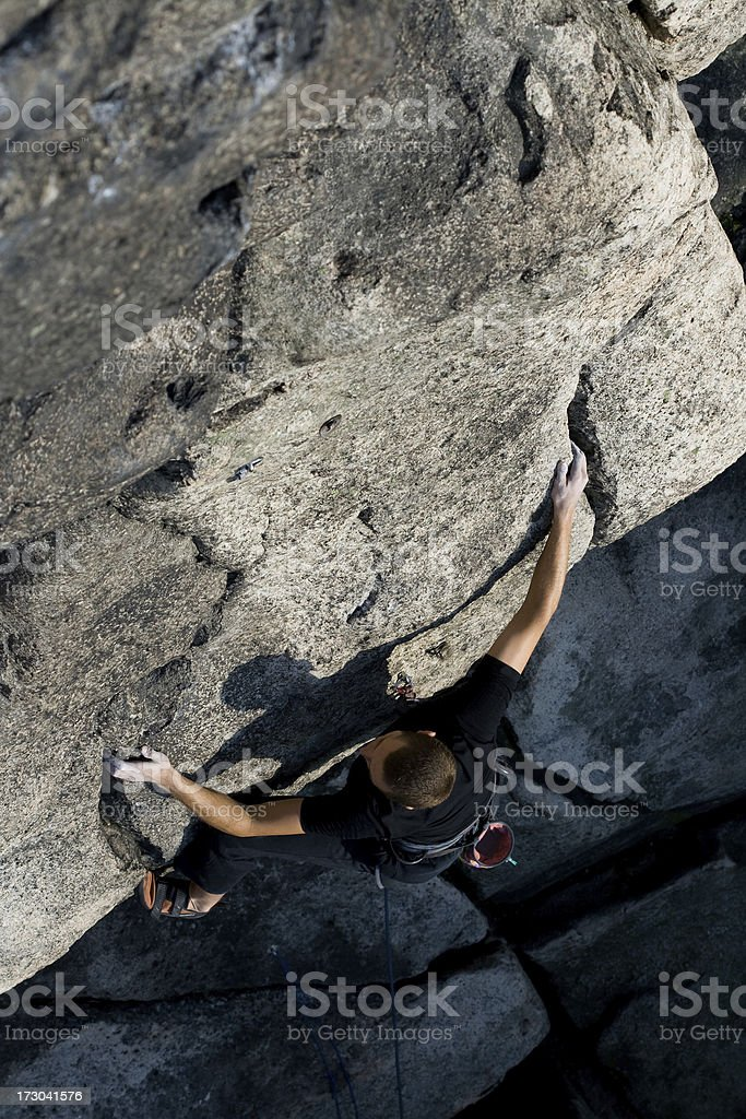 climbing adventure royalty-free stock photo