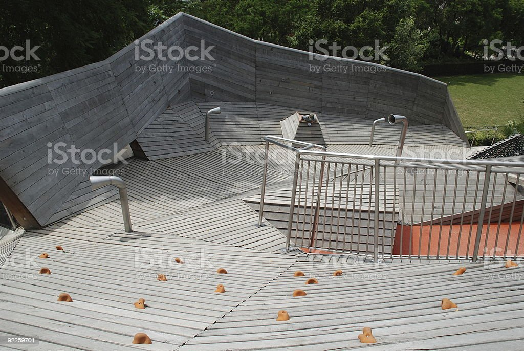 Climbing area for children royalty-free stock photo