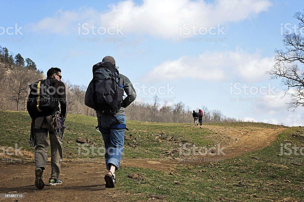 Climbing day royalty-free stock photo