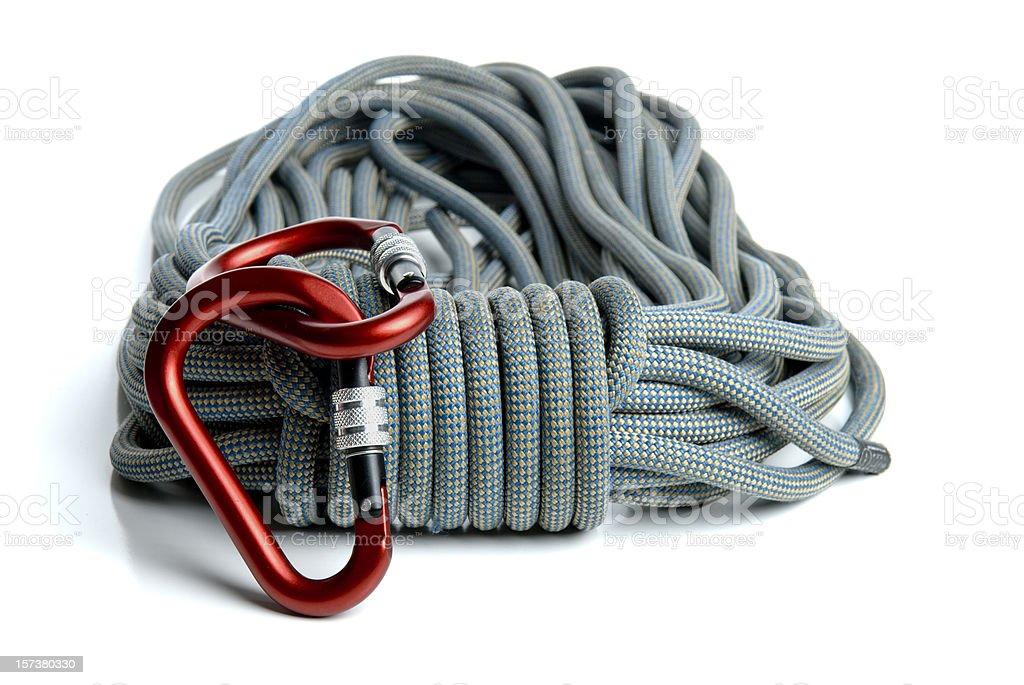 Climbing Equipment royalty-free stock photo