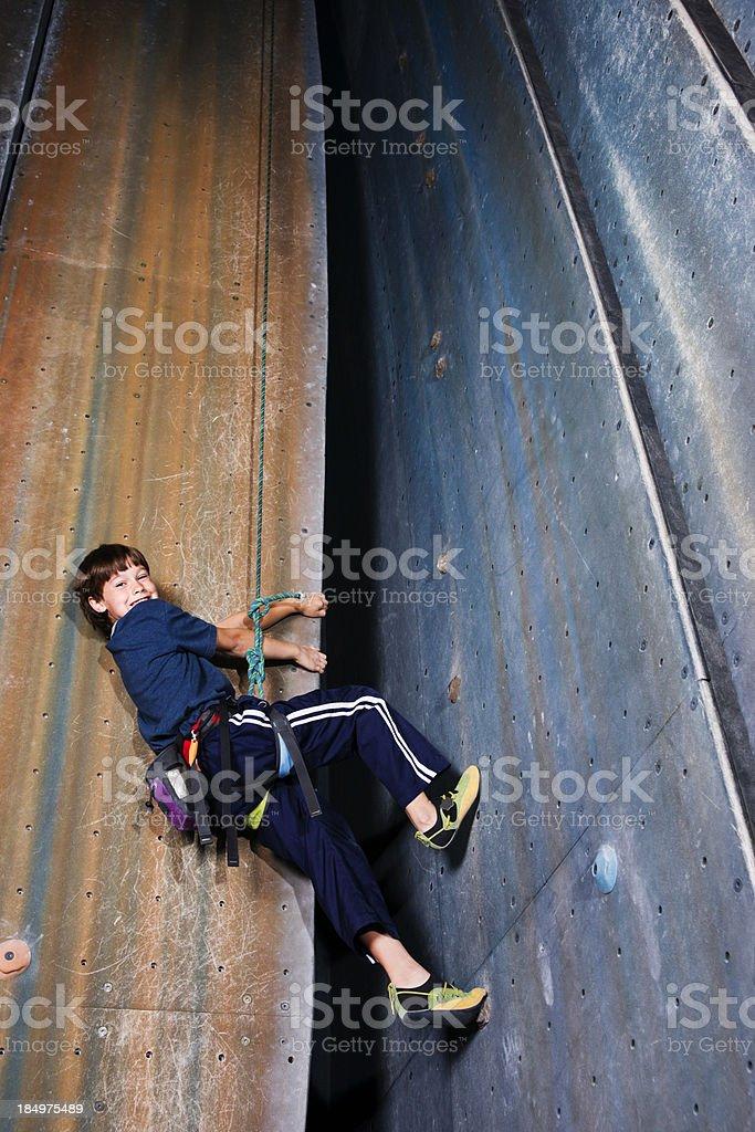 Climbing Fun stock photo