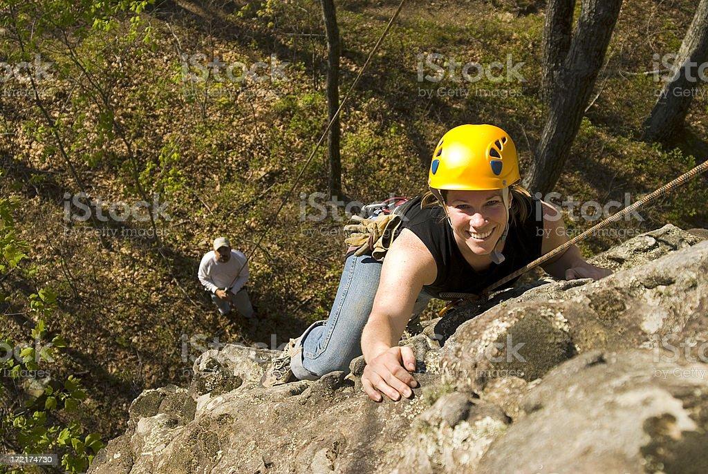 Klettern Mädchen#2 Lizenzfreies stock-foto