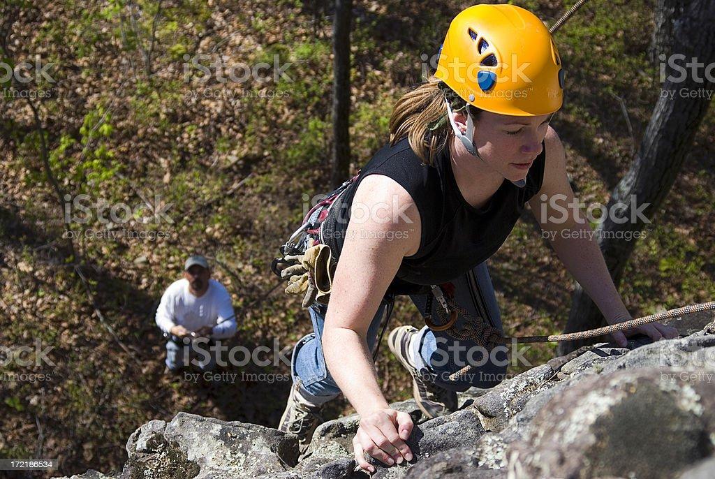 Klettern Mädchen#3 Lizenzfreies stock-foto