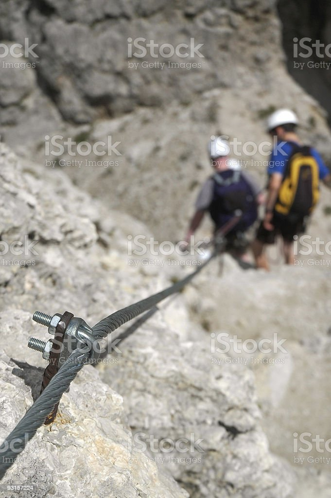 Climbing Hardware royalty-free stock photo